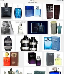 Perfumes de hombre mas vendidos en Madrid