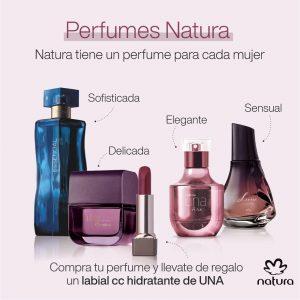 Productos natura perfumes para hombres